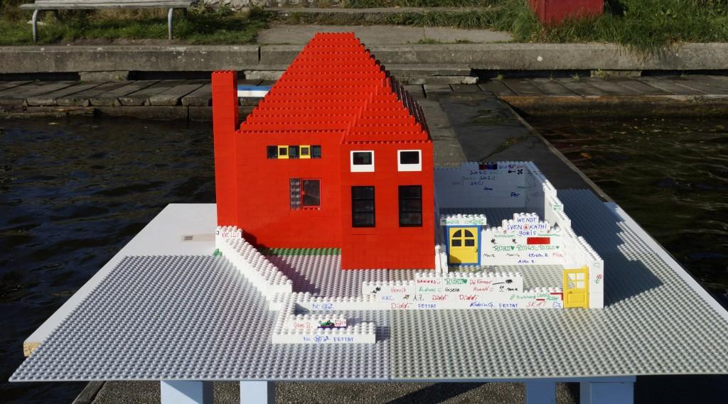Von Ole Goldammer gebautes Modell des Vereinshauses