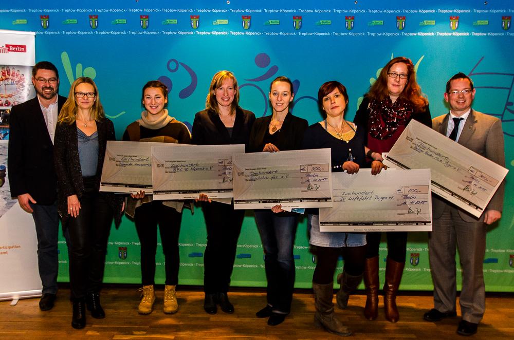 """Zukunftspreis """"Frauen im Sport"""" 2015"""